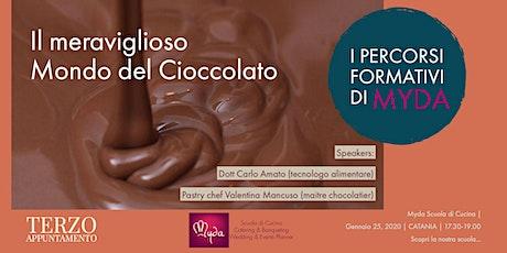 Il Meraviglioso Mondo del Cioccolato. I Percorsi Formativi di Myda. biglietti