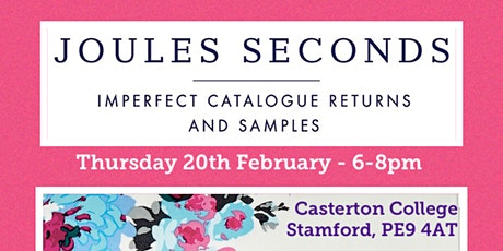 Joules Seconds Sale tickets