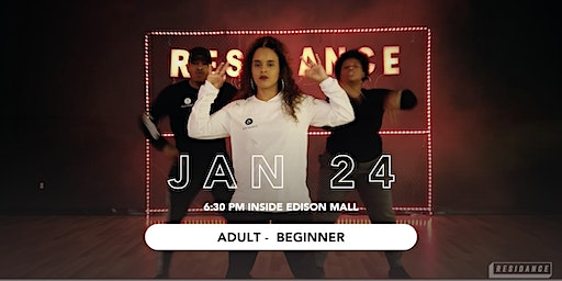 01/24 Urban Dance Class | Adult - Beginner | By RESIDANCE