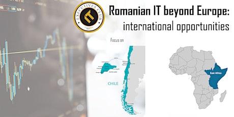 Romanian IT Beyond Europe: internationalization opportunities tickets