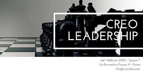 CREO LEADERSHIP biglietti