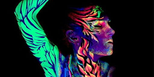 Life highlighted: Neon life drawing