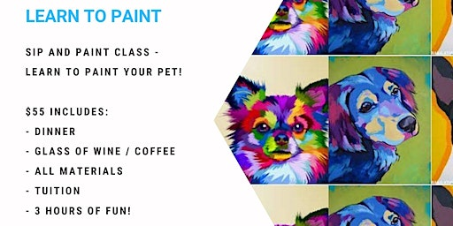 Learn to paint your pet - Andy Warhol style!