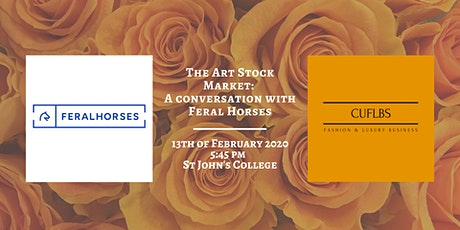 The Art (Stock) Market: A Conversation with Feral Horses tickets