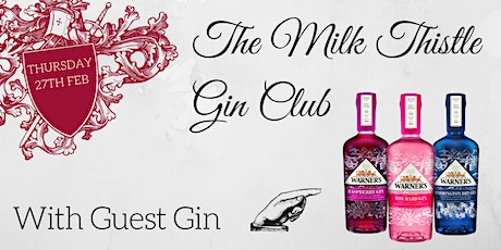 Warner's Gin Club at The Milk Thistle tickets