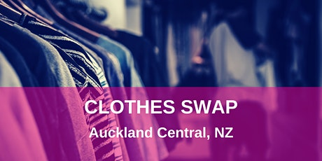 Clothes Swap Auckland Central tickets