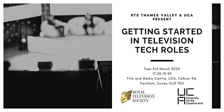 Getting Started in Television Tech Roles tickets