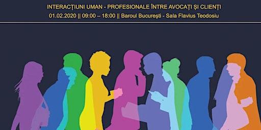 Interacțiuni uman-profesionale între avocați și clienți
