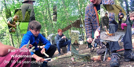Fall - Into The Wilderness Bushcraft Sleepover (10-14 year olds) tickets
