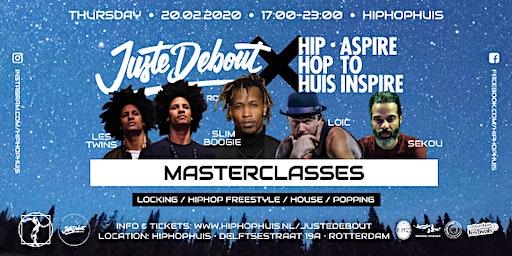 Juste Debout Masterclasses x HipHopHuis Rotterdam