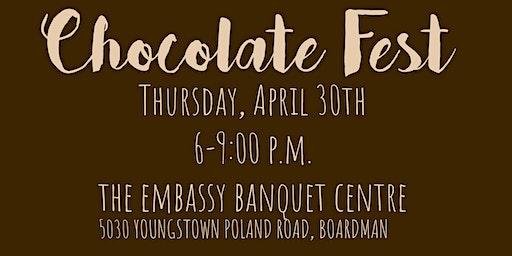 Piggyback Foundation of Youngstown Chocolate Fest