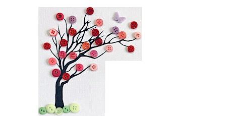 Button Blossom Tree @ Leytontone Library tickets