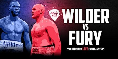 Watch Wilder v Fury LIVE at Belushi's Berlin Tickets