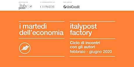 Incontro con Marco Bentivogli e Diodato Pirone: Gli operai 4.0 e l'Italia nell'era post Marchionne biglietti