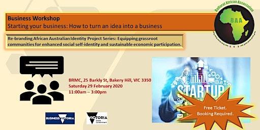 Start a Business Workshop!