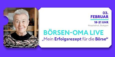 Beate Sander: Mein Erfolgsrezept für die Börse Tickets