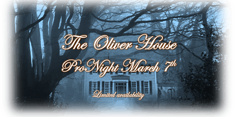 ProNight - Oliver House March 7th tickets