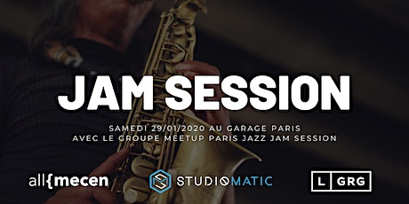 Jam Session Jazz Soul - Le Garage Paris tickets