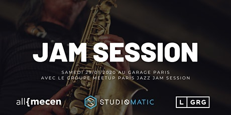 Jam Session Jazz Soul - Le Garage Paris billets