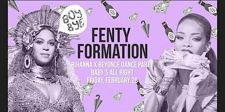 Fenty Formation: Rihanna X Beyoncé Dance Party tickets