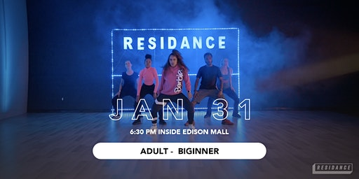 01/31 Urban Dance Class | Adult - Beginner | By RESIDANCE