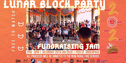 Lunar Block Party - Bushfire Fundraising Jam
