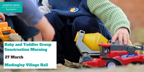 Baby and Toddler Group - Construction Morning tickets