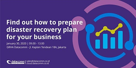 Find Out How to Prepare a Disaster Recovery Plan tickets