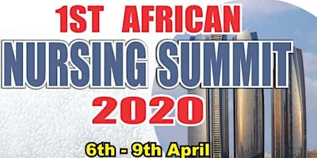 1st African Nursing Summit 2020 tickets