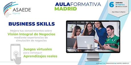 Business Skills. Vision integral del Negocios. entradas