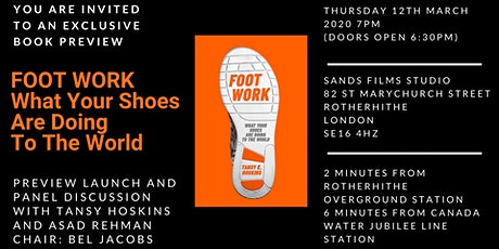 FOOT WORK - Preview Launch tickets