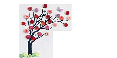 Button Blossom Tree @ Wood Street Library