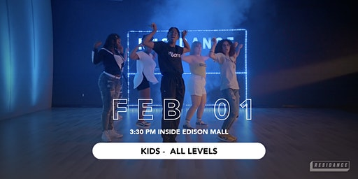 02/01 Urban Dance Class | Kids - All Levels | By RESIDANCE