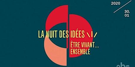 La Nuit des Idées - Malam Pertemuan Ide tickets