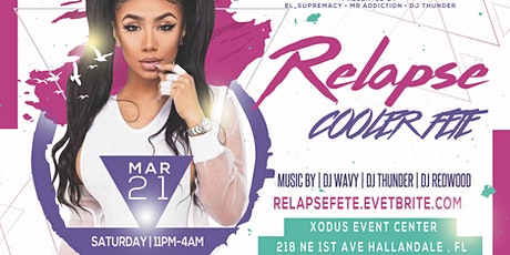 RELAPSE COOLER MARCH 21 tickets
