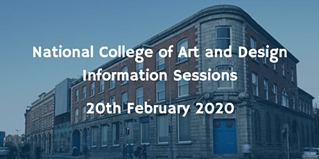 National College of Art and Design Information Session tickets