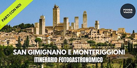 ITINERARIO FOTOGASTRONOMICO A SAN GIMIGNANO E MONTERIGGIONI tickets