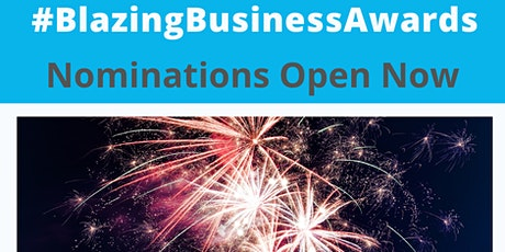 Blazing Business Awards 2020 tickets