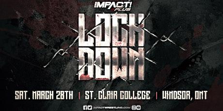 Impact Wrestling LOCKDOWN 2020 tickets