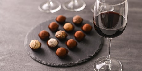 Friarwood Chocolate & Wine Tasting featuring DeRosier Chocolates tickets