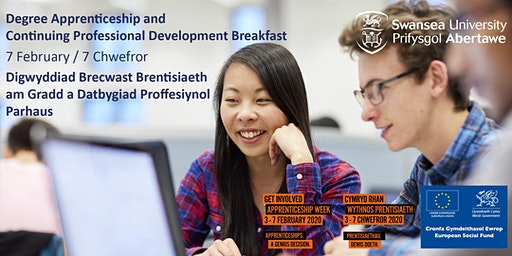 Degree Apprenticeship and Continuing Professional Development Breakfast
