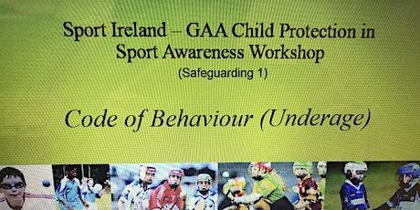 GAA Safeguarding 1 (Child Welfare) tickets