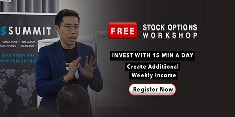 FREE 3-Hour Stock Options Workshop tickets