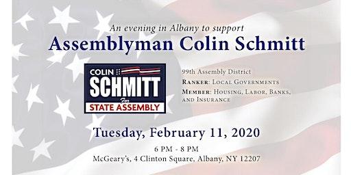 An evening in Albany to support Assemblyman Schmitt!