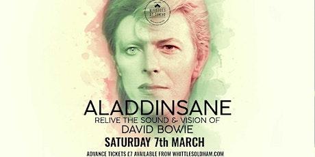 ALLADINSANE - Tribute to David Bowie tickets