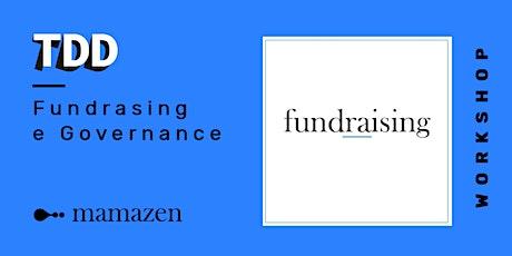 Fundrasing e Governance biglietti