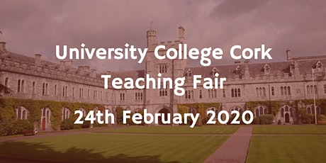 University College Cork Teaching Fair tickets