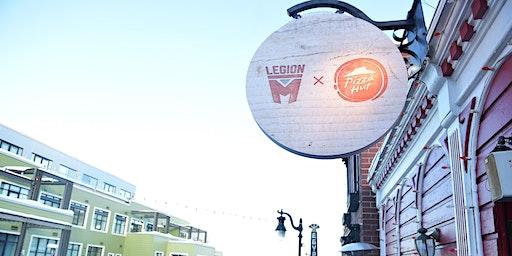 Legion M x Pizza Hut Red Hut Lodge