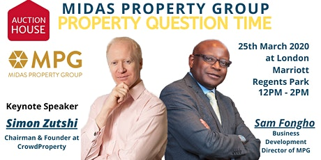 25th March 2020 Property Question Time  tickets
