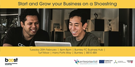 Start and Grow your Business on a Shoestring tickets